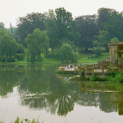 "фото ""The lake pavilion"""