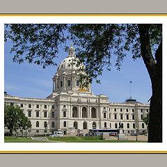 """фото """"State Capital, Minnesota"""""""