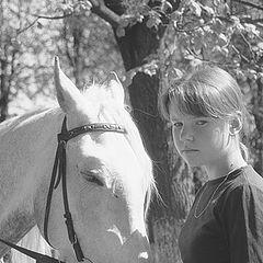 """фото """"Девочка и Лошадь"""""""
