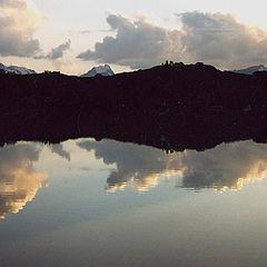 """фото """"Вечер в горах"""""""