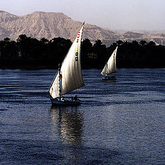 "фото ""Sailing on the Nile"""