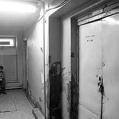 """photo """"Emergency door on lock"""""""