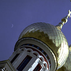 "фото ""Moon on turkish blue"""