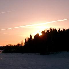 "фото ""Красивый закат"""