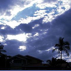 """photo """"Blue Sunset"""""""