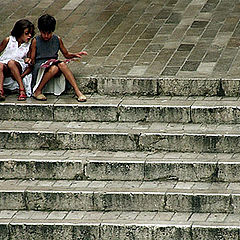 """фото """"On the stairs"""""""