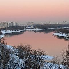 "фото ""Розовый вечер"""