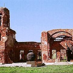 """photo """"Church. Ruins of World War II"""""""