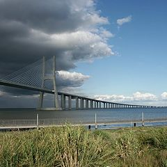 "фото ""Vasco da Gama bridge"""