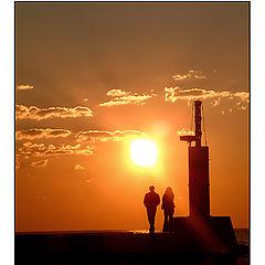 "фото ""romantic sunset"""