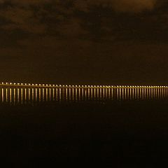"фото ""Vasco da Gama Bridge by night"""