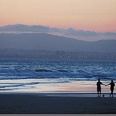 "фото ""Love at Sunset"""