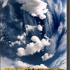 "фото ""Облака  над  островом ..."""