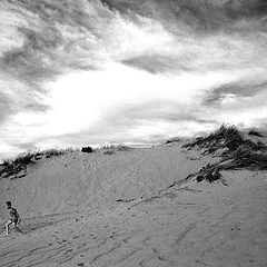 """фото """"Playing at the Dunes"""""""