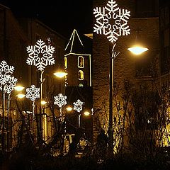 "photo ""Andorra. Night. And lights"""