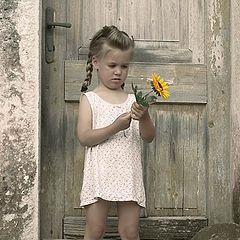 "фото ""Flower Girl"""