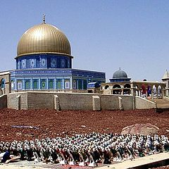 """photo """"A little life. A pray on Temple mount"""""""