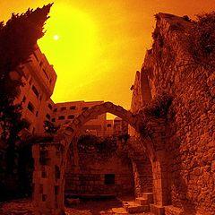 "фото ""Кровавое солнце Иерусалима"""