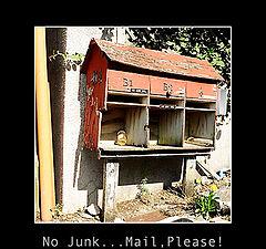"photo ""No Junk...Mail, Please!"""