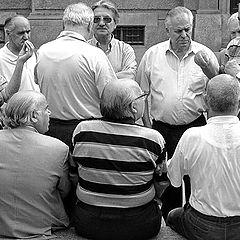 """фото """"Italian society of (old) men"""""""