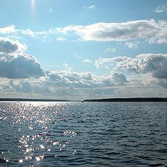 """фото """"Вода и небо"""""""