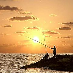 """photo """"One more picture about fishermen"""""""