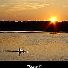 """фото """"Sunset over Egholm II"""""""