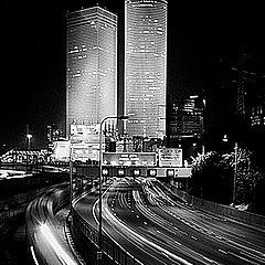 "фото ""Ночное шоссе"""