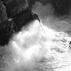 "фото ""Series - ` Of a Sea Storm - Tempest"""