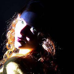 """фото """"Red Hair Green Eyes"""""""