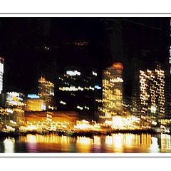 "photo ""Shaken lights of big city"""