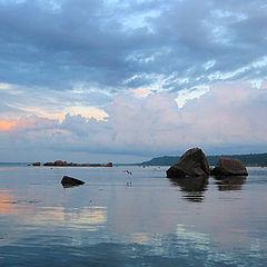 "photo ""Sea transparent evening"""