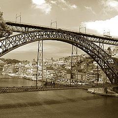 "фото ""Oporto Bridge"""