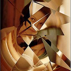 "фото ""Зеркало разбитых иллюзий.."""