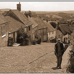 "фото ""Gold Hill Dorset"""