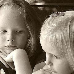 "фото ""Aunty Maisie and her Niece Emilia"""