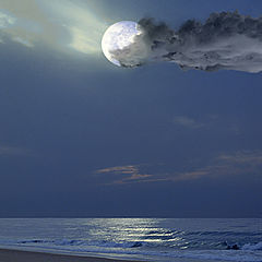 "photo ""Beach moon light"""