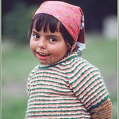 """photo """"Farm little girl"""""""