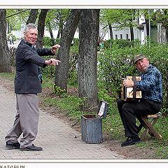 "photo ""Street improvising"""