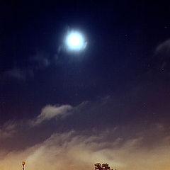 """photo """"Moon on Marsovo Pole"""""""