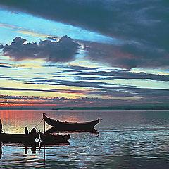 "фото ""Sunset fishery"""