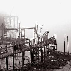 "photo ""Quay`s fog"""