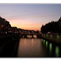 "фото ""The light in Calm Seine"""