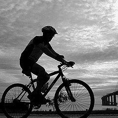 "фото ""Rinding the bike"""