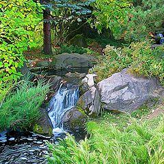 """фото """"Картинка из японского сада"""""""