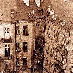 "фото ""С точки зрения киевской крыши, 1970-е"""