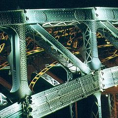 "photo ""Bol`sheohtinsky the bridge"""