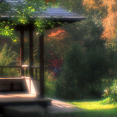 "photo ""Place for meditation"""