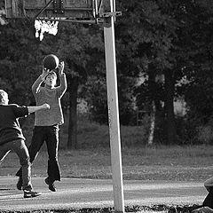 """фото """"Дворовый баскетбол"""""""