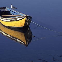 "photo ""Yellow boat"""
